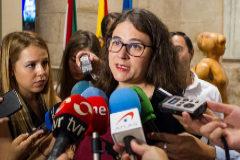 Raquel Romero, consejera de Gobierno de La Rioja.