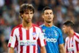 João Félix y Cristiano Ronaldo en un partido de fútbol