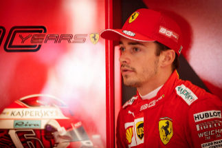 Stavelot (Belgium).- Monaco's Formula One driver Charles <HIT>Leclerc</HIT> of Scuderia Ferrari reacts in his team's garage during the third practice session at the Spa-Francorchamps race track in Stavelot, Belgium, 31 August 2019. The 2019 Formula One Grand Prix of Belgium will take place on 01 September. (Fórmula Uno, Bélgica) EPA/