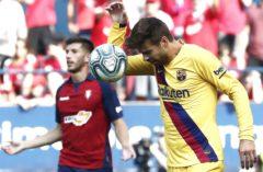 El Barcelona queda atrapado en El Sadar