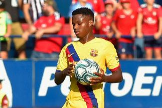 ¿El Barça de Ansu Fati?