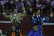 Triunfo de Cayetano y Sergio Dominguez