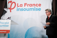 El líder de La Francia Insumisa Jean-Luc Mélenchon.