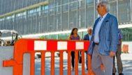 El delegado del Gobierno en Baleares, Ramon Morey, ante los juzgados de Ibiza.