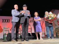Paco del Gastor agradece con emoción el homenaje del Festival de Torremolinos.