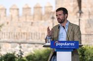 Pablo Casado, en Ávila, en la apertura del curso político del PP.