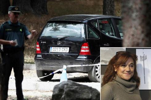 Medio centenar de agentes buscan a Blanca Fernández Ochoa en el Valle de la Fuenfría  (Madrid)