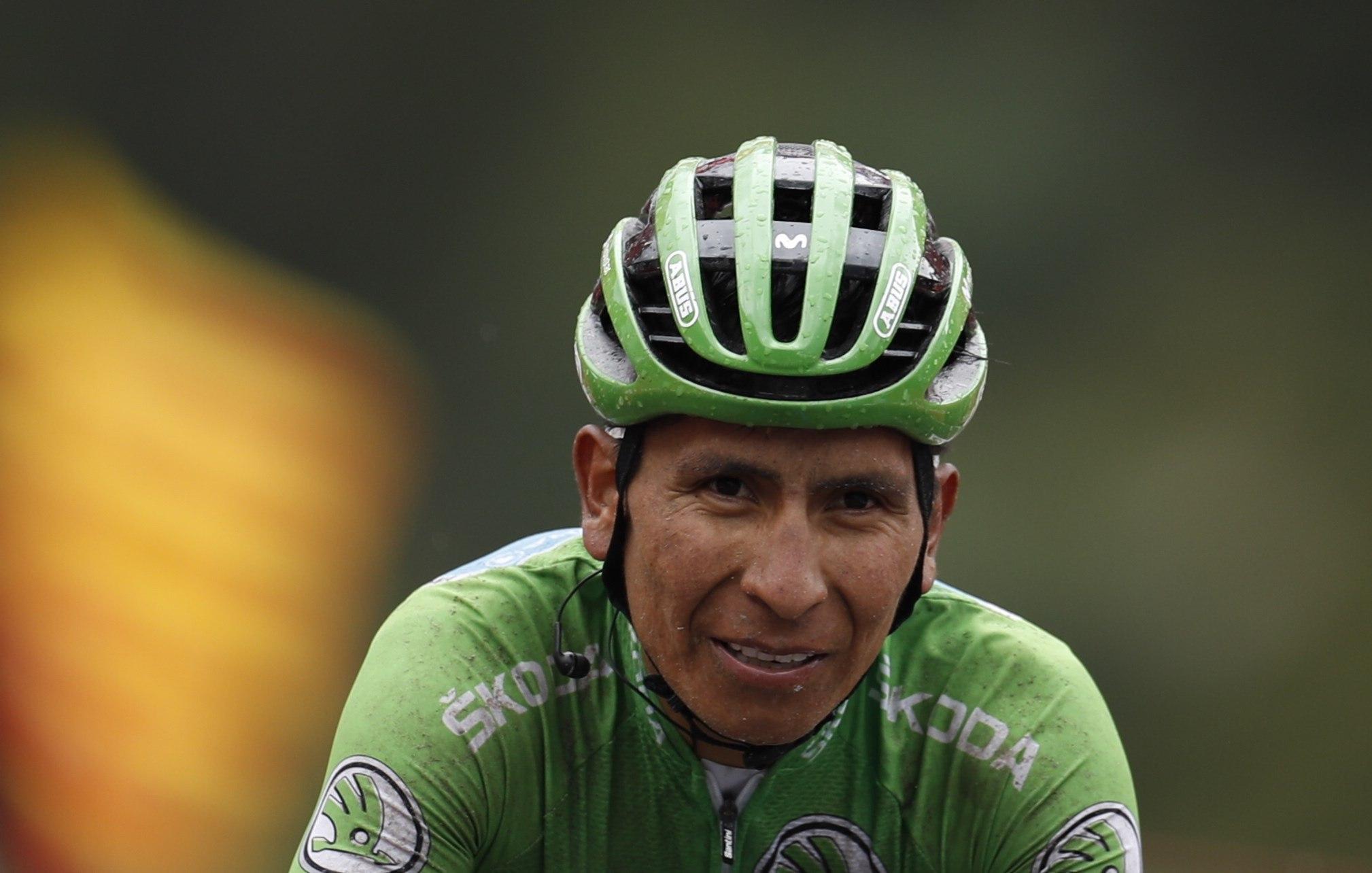 GRAF4710. ANDORRA.- El ciclista colombiano del equipo Movistar,...