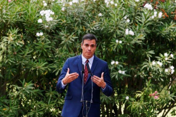 El presidente del Gobierno en funciones, Pedro Sánchez.