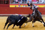 Pleno de orejas para Guillermo Hermoso en Palencia