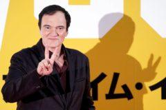 Quentin Tarantino, en la première de 'Érase una vez en Hollywood' en Japón.