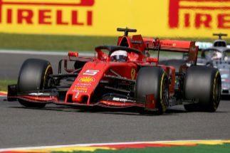 Vettel, esta vez sí, fue un buen escudero