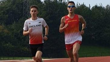 El guipuzcoano Iraitz Arrospide, nuevo campeón del mundo de 50 kilómetros en ruta.