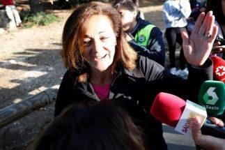 """Lola Fernández Ochoa: """"Esperanzados de hallar a Blanca, aunque sea accidentada"""""""