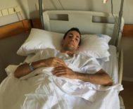 David de Miranda, a la espera del diagnóstico definitivo sobre su nueva lesión vertebral