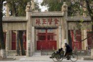 Lugar dónde nación Confucio en la ciudad china de Qufu.
