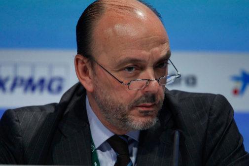 Javier Monzón, presidente no ejecutivo del grupo Prisa, en una foto...