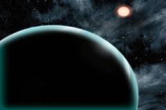 Recreación artística del exoplaneta Kepler-421b