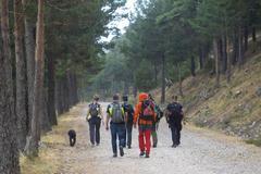 Agentes buscan a Blanca Fernández Ochoa en la Fuenfría.