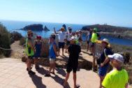 Turistas de este verano en las islas Columbretes.