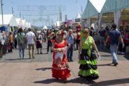Imagen de la Feria de Abril celebrada en el Forum de Barcelona.