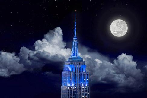 1. EMPIRE STATE DE NUEVA YORK (Más de 3.7 millones de menciones)