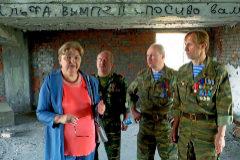 Nadezhda Gurieva, profesora y madre de dos hijos asesinados en Beslán.