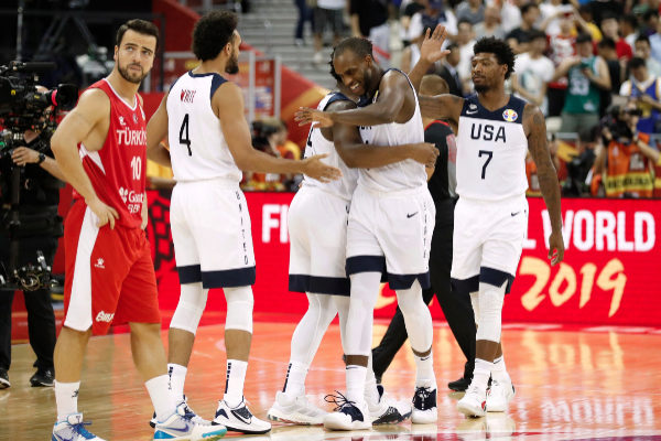 Basketball - FIBA World Cup - First Round - Group E - United States v...