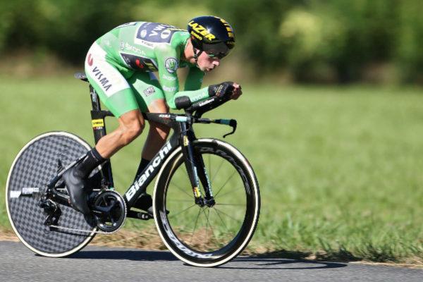 GRAF5757. PAU (FRANCIA).- El ciclista eslovaco del equipo Jumbo-Visma,...