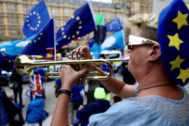 Brexit protests in <HIT>London</HIT>