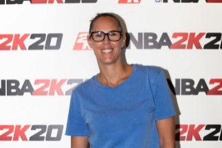 Amaya Valdermoro, durante la presentación del nuevo NBA 2K20.