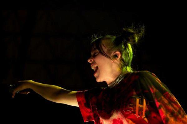 Billie Eilish en su concierto
