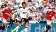 Dani Parejo, en el segundo lanzamiento de penalti.