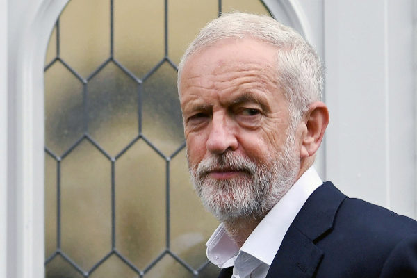 London (United Kingdom).- <HIT>Labour</HIT> leader Jeremy Corbyn...