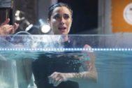 Pilar Rubio aguantó cuatro minutos bajo el agua en El Hormiguero en Antena 3