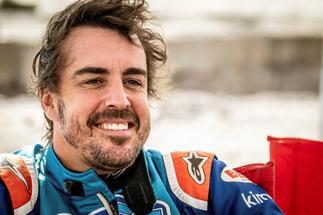Los 700 kilómetros de entrenamientos de Fernando Alonso en Polonia