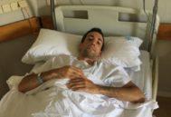 David de Miranda recibe el alta hospitalaria