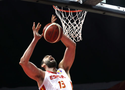 Basketball - FIBA World Cup - First Round - Group C - Spain v Iran