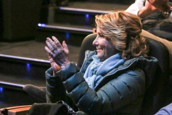 La ex presidenta de la Comunidad de Madrid Esperanza Aguirre...