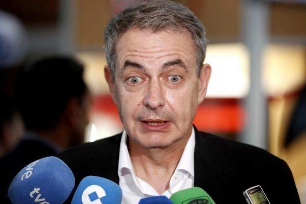 El ex presidente del Gobierno Rodríguez Zapatero.