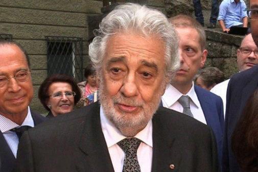 Plácido Domingo, en declaraciones a Efe, agradeció al público del...