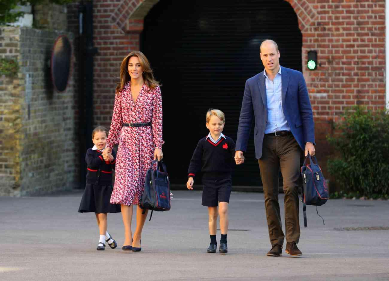 Hoy jueves, 5 de septiembre, la princesa Carlota ha acudido a su...