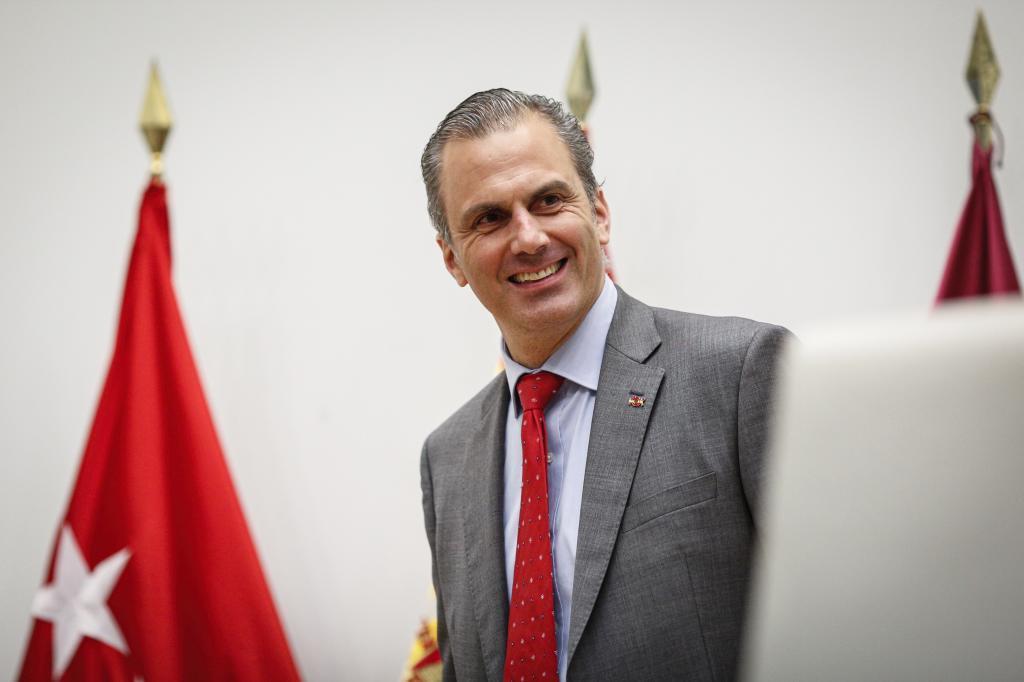 El portavoz de Vox, Javier Ortega Smith.
