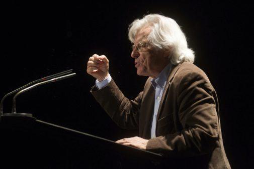 Javier Nart, ex integrante de Cs y eurodiputado, en una conferencia en...