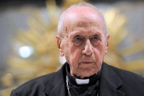 El cardenal Roger Etchegaray, en un foto de archivo de 2014.