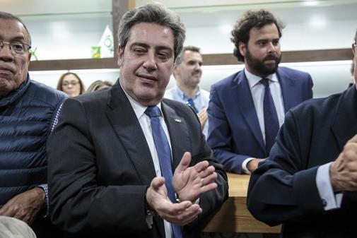 El Presidente Provincial de Vox y diputado electo en las Cortes Valencianas, José María Llanos.
