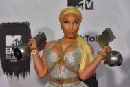 Nicki Minaj en los premios MTV Europe Music Awards