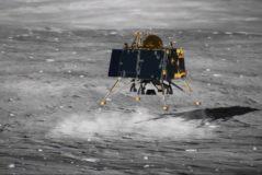 Recreación del módulo lunar Vikram