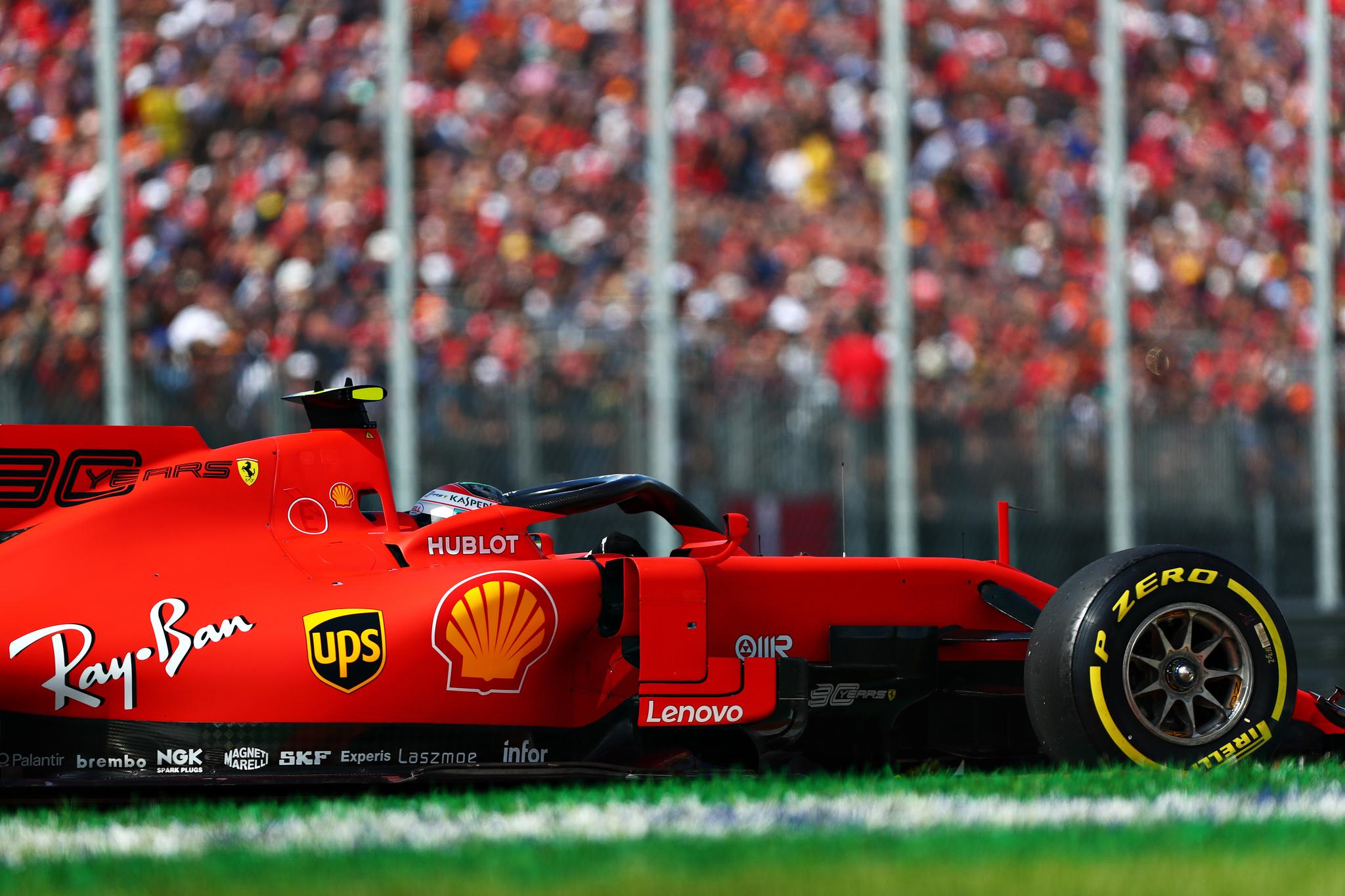 Leclerc consigue la insólita 'pole' de las tortugas
