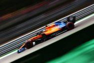 Sainz, durante la clasificación del sábado en Monza.